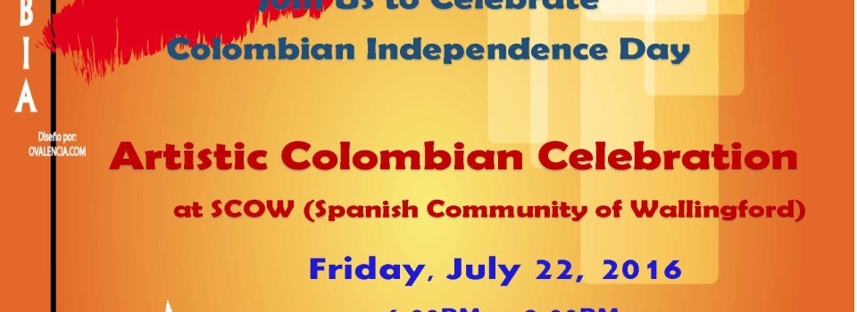 Colombian Day Flyer